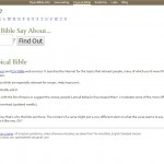 OpenBible.info Topical Search